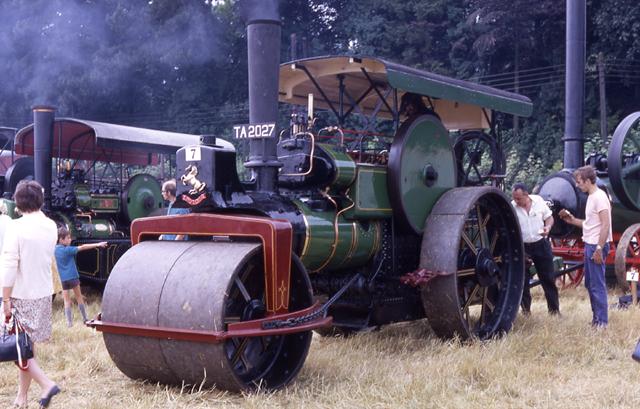 Aveling & Porter roller 10168 TA2027