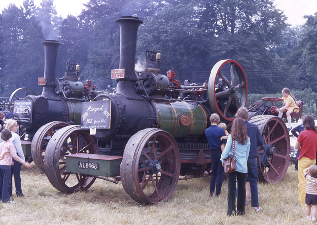 Fowler ploughing engines 1368 & 2013 Noreen & Magaret