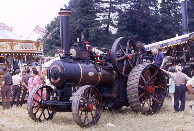 Fowler traction engine 15710