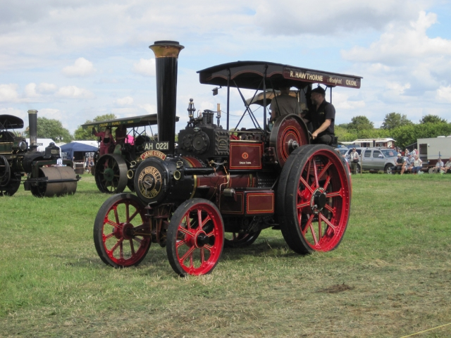 Burrell Tractor No. 3626 at The Great Bucks Rally 2014