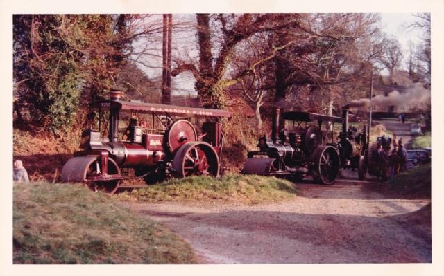 Engines at Aldworth