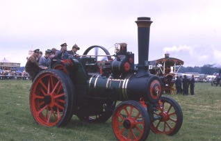 Burrell Traction Engine no. 2426 at Banbury Rally 1972