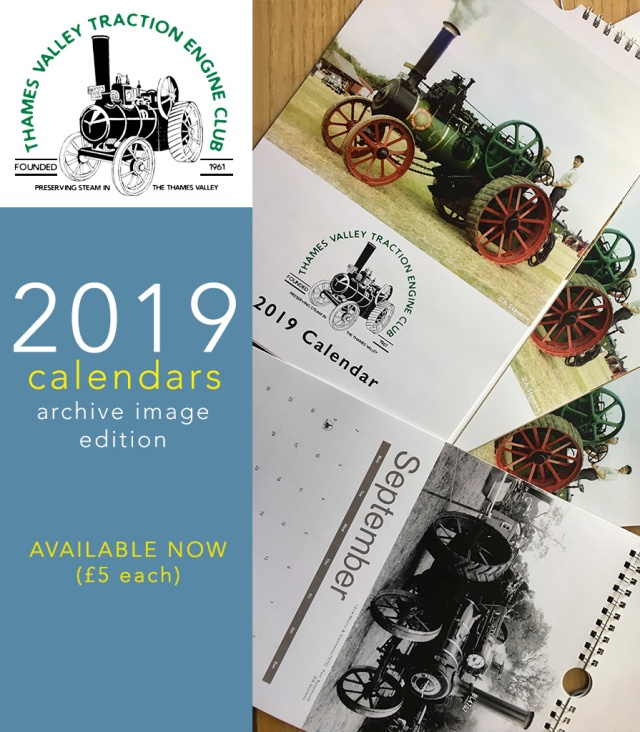 Thames Valley Traction Engine Club Calendar 2019