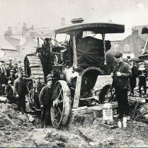 Burrell Showmans doing a spot of ploughing.